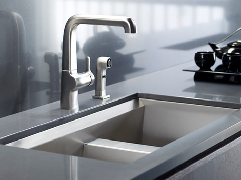 new sink fitting photo